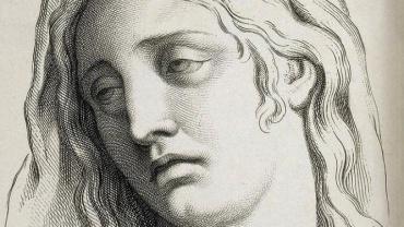 Charles Le Brun, La Tristesse, gravure